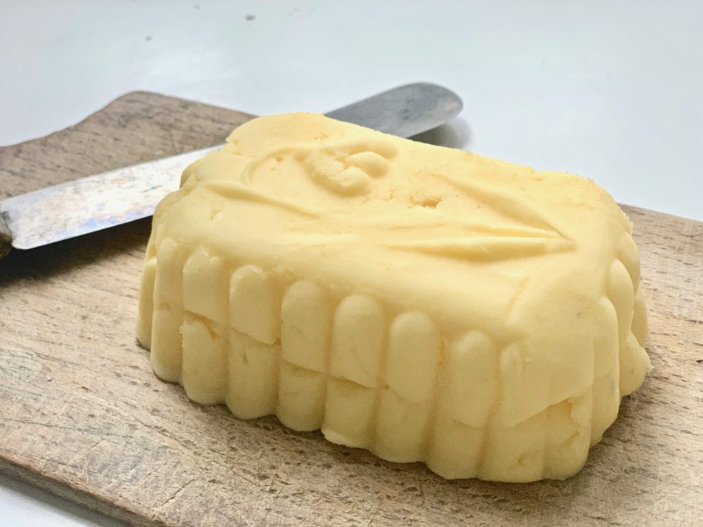 old-fashioned butter