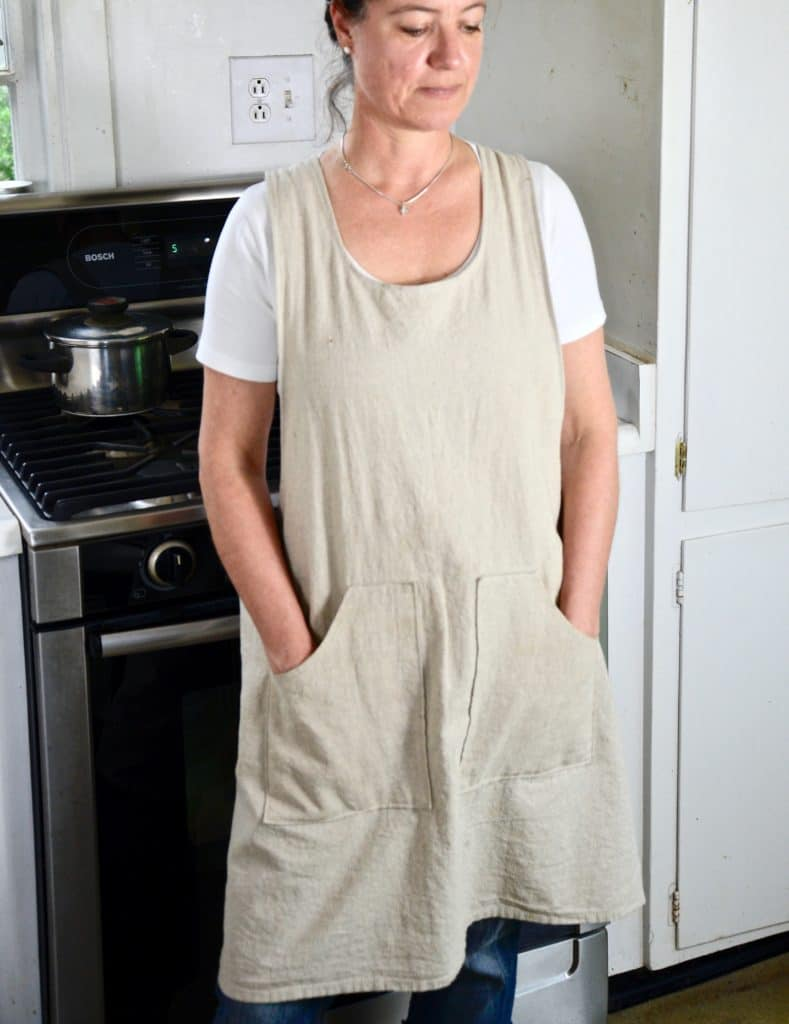 apron sewing tutorial