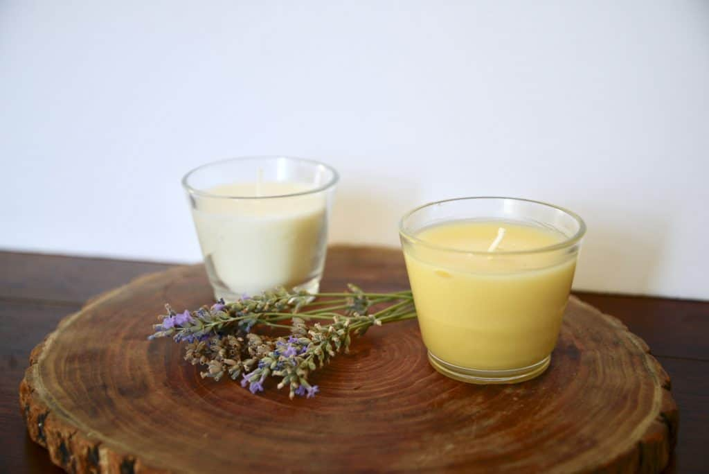soywax and beeswax candles