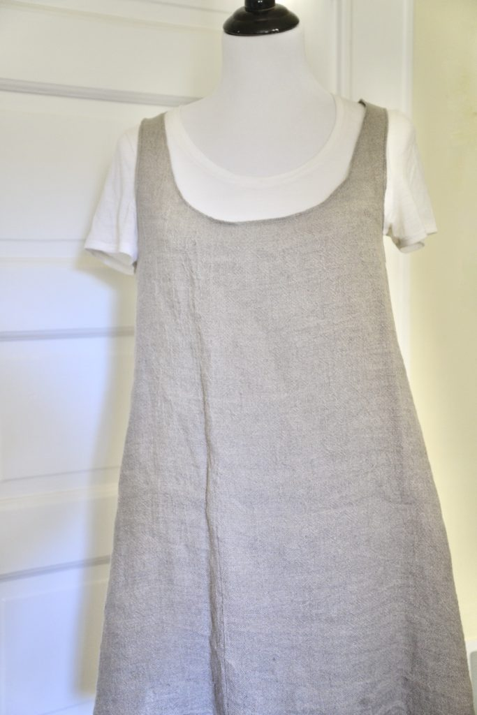 How to sew a linen top without pattern