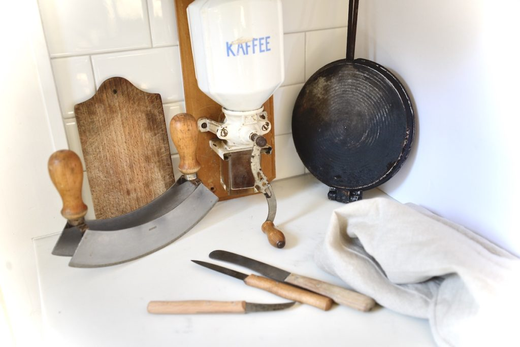 Old-fashioned kitchen tools I actually use