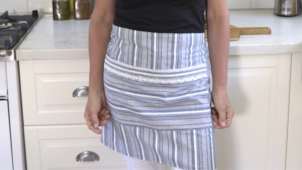 How to sew a Half Apron