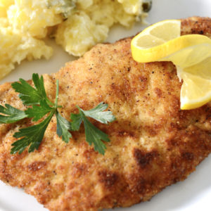 How to make Authentic German Schnitzels